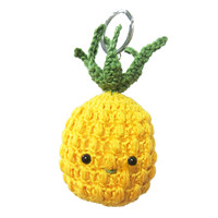 Crochet kit Bag Pendant Pineapple
