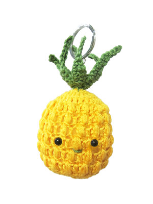 Hardicraft Crochet kit Bag Pendant Pineapple