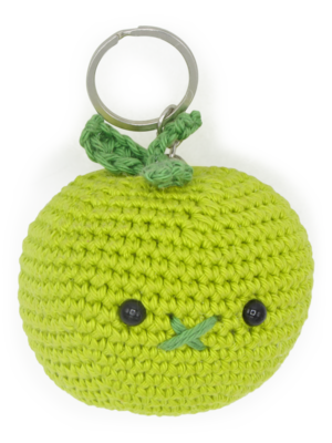 Hardicraft Crochet kit Bag Pendant Apple