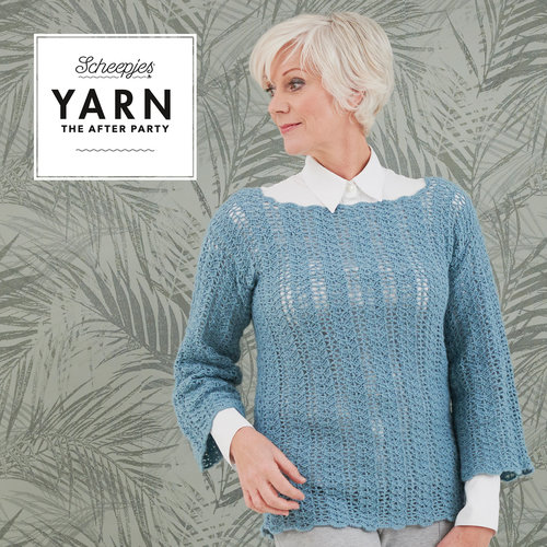 "Yarn YARN Crochet pattern 40 ""Tansy Tunic"""