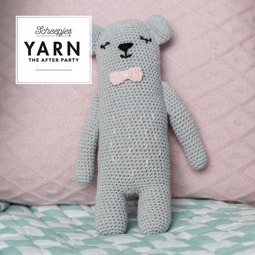 "Yarn YARN Crochet pattern 37 ""Woodland Friends Bear"""