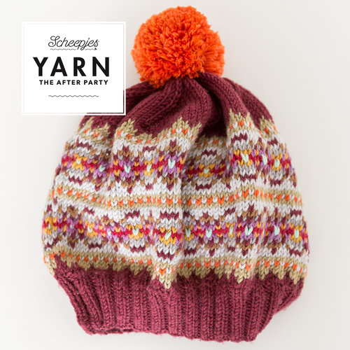 "Yarn YARN Crochet pattern 36 ""Bobble Hat"""