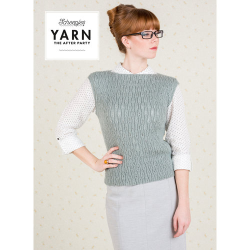"Yarn YARN Crochet pattern 35 ""Term Time Top"""