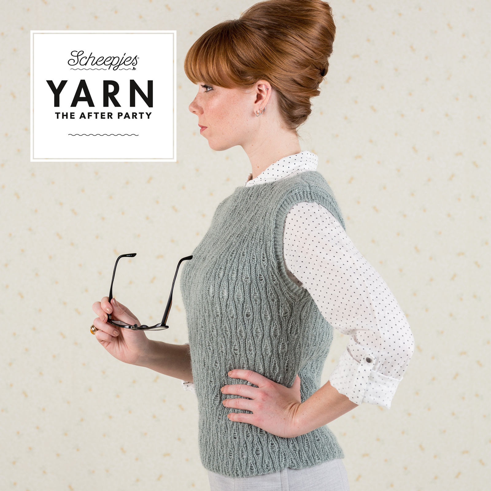 "YARN Patron de crochet 35 ""Term Time Top"""