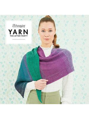"""Yarn YARN Crochet pattern 32 """"Exclamation Shawl"""""""