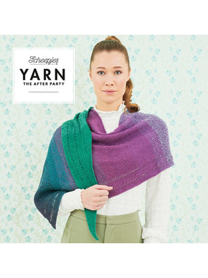 "Yarn YARN Patron de crochet 32 ""Exclamation Shawl"""
