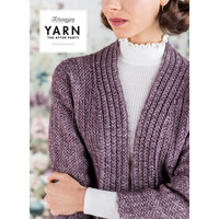"YARN Haakpatroon 29 ""Herringbone Cardigan"""
