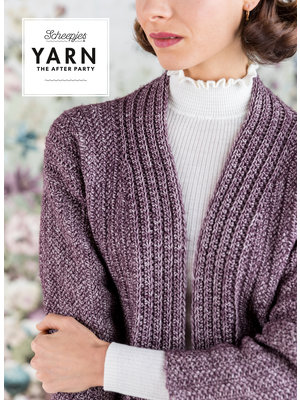 "Yarn YARN Crochet pattern 29 ""Herringbone Cardigan"""