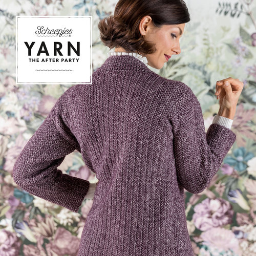 "Yarn YARN Haakpatroon 29 ""Herringbone Cardigan"""