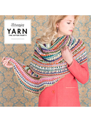 "Yarn YARN Crochet pattern 20 ""Wrapket Scarf"""