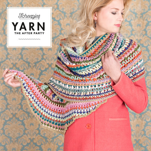 "Yarn YARN Haakpatroon 20 ""Wrapket Scarf"""