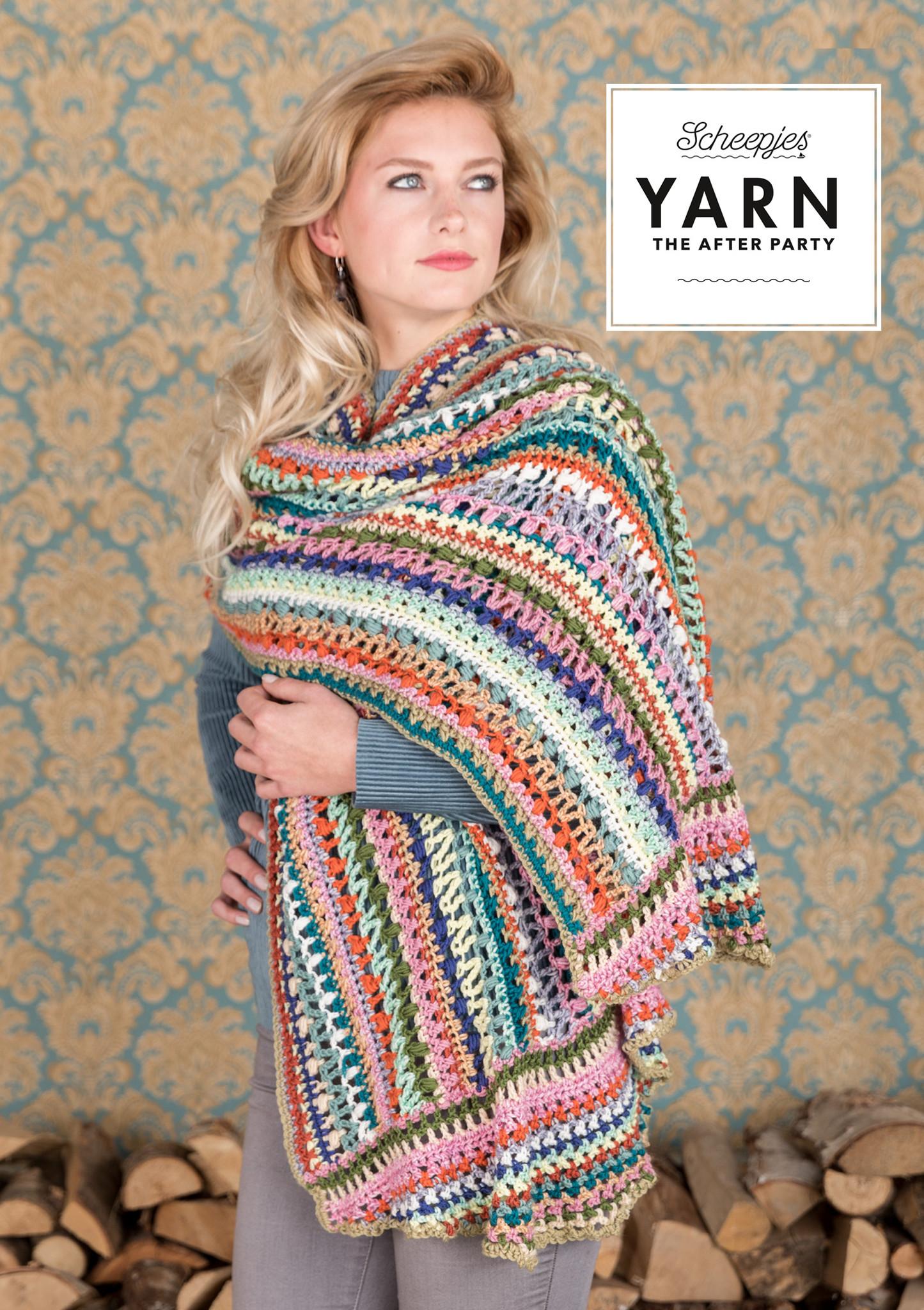 """YARN Crochet pattern 20 """"Wrapket Scarf"""""""