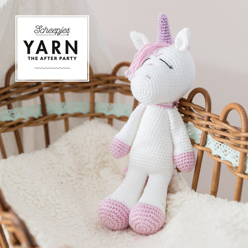 "Yarn YARN Crochet pattern  31 ""Unicorn"""
