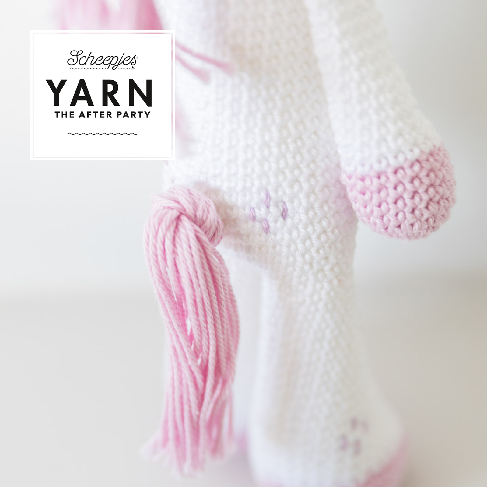 "YARN Crochet pattern  31 ""Unicorn"""