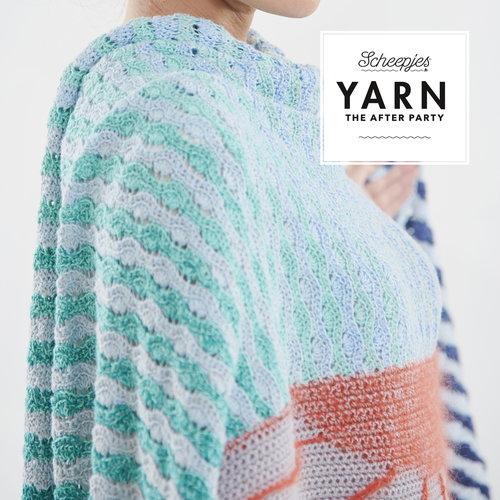"""Yarn YARN Crochet pattern  30 """"Alto Mare Wrap"""""""
