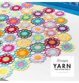 "YARN Crochet pattern  11 ""Garden Room Tablecloth"""