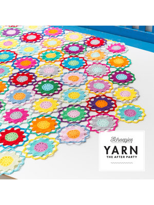"Yarn YARN Häkelmuster 11 ""Garden Room Tablecloth"""