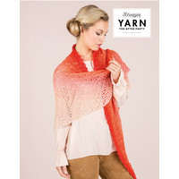 "YARN Crochet pattern 15 ""Dream Catcher Shawl"""