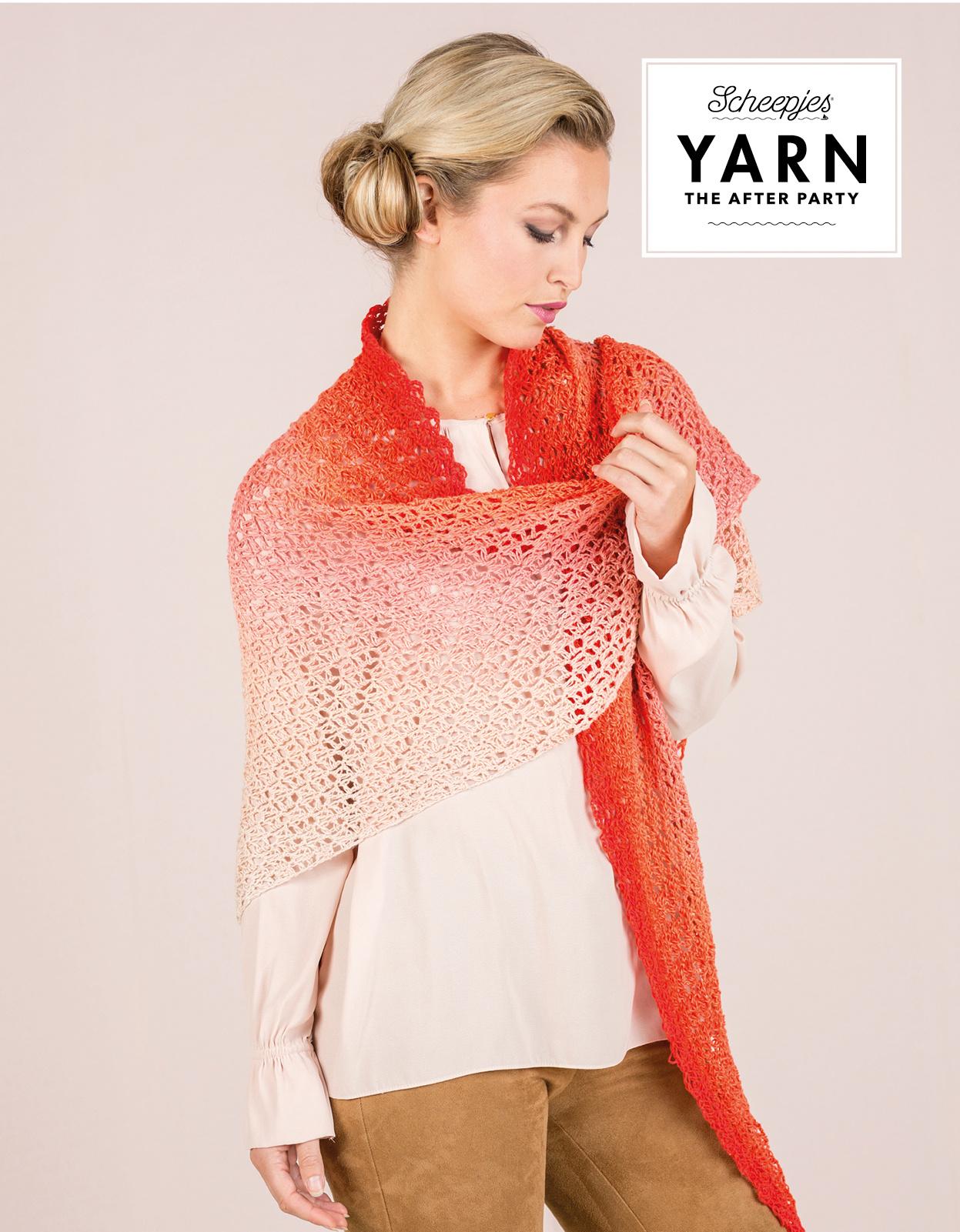 "YARN Crochet pattern 15 ""Dream Catcher Shawl"""