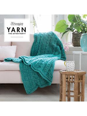 "Yarn YARN Crochet pattern  24 ""Popcorn & Cables Blanket"""