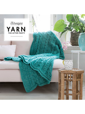 "Yarn YARN Häkelmuster 24 ""Popcorn & Cables Blanket"""