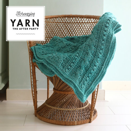 "Yarn YARN Haakpatroon 24 ""Popcorn & Cables Blanket"""