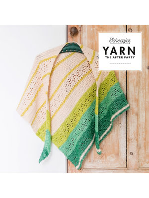 "Yarn YARN Patron de crochet 23 ""Valley Shawl"""