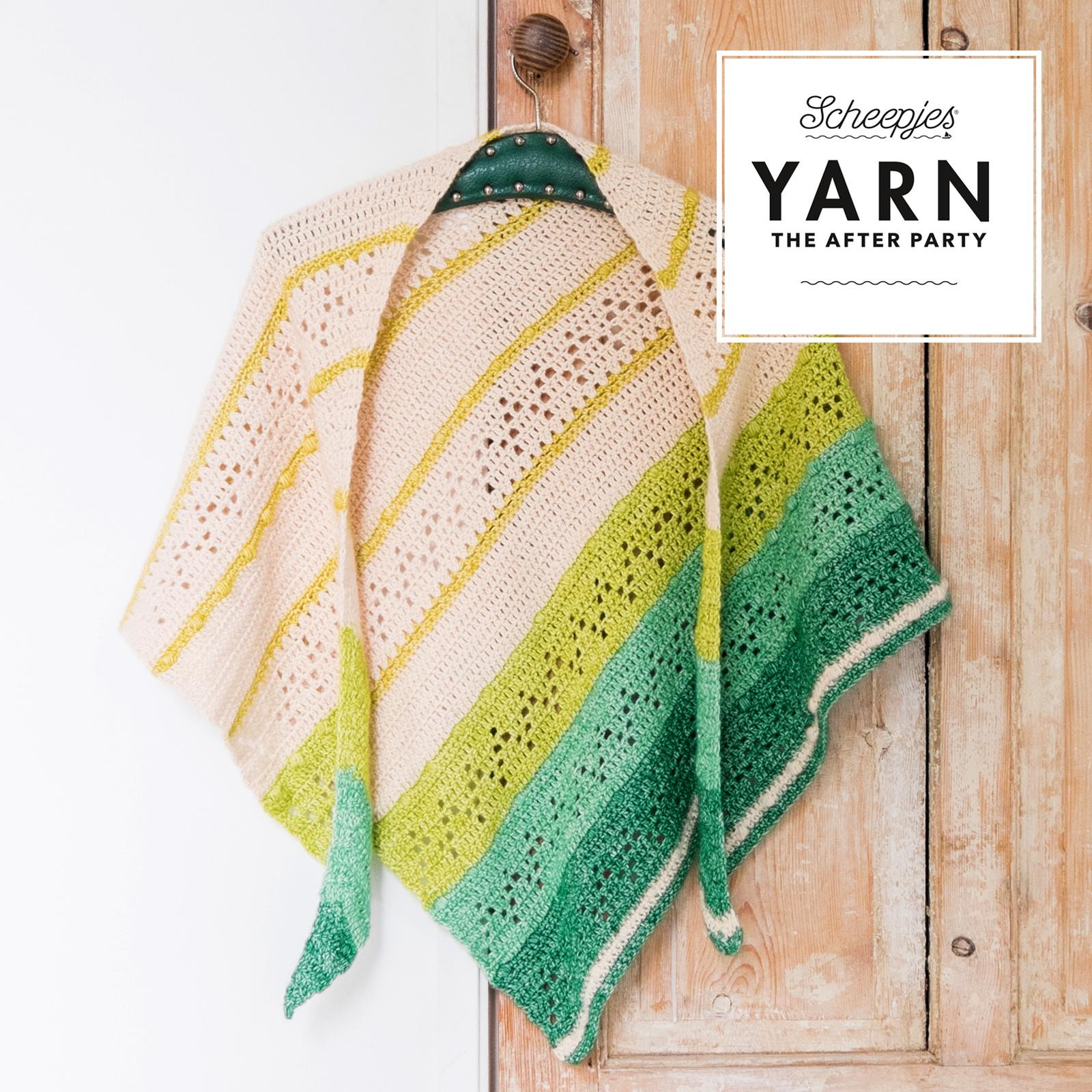 "YARN Patron de crochet 23 ""Valley Shawl"""