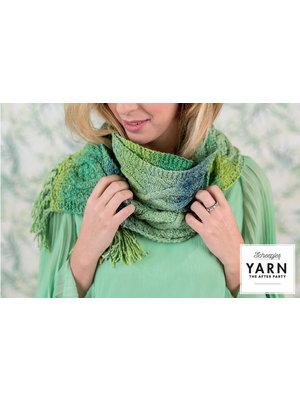 """Yarn YARN Crochet pattern 12 """"Mossy Cabled Scarf"""""""