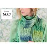 "YARN Crochet pattern 12 ""Mossy Cabled Scarf"""