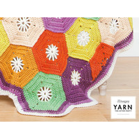 "YARN Häkelmuster 14 ""Hexagon Blanket"""