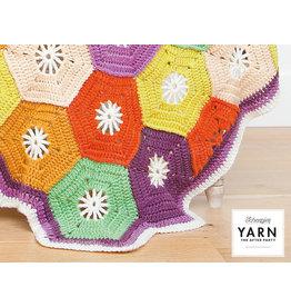 "YARN Häkelmuster 14 ""Hexagon Blanket"""