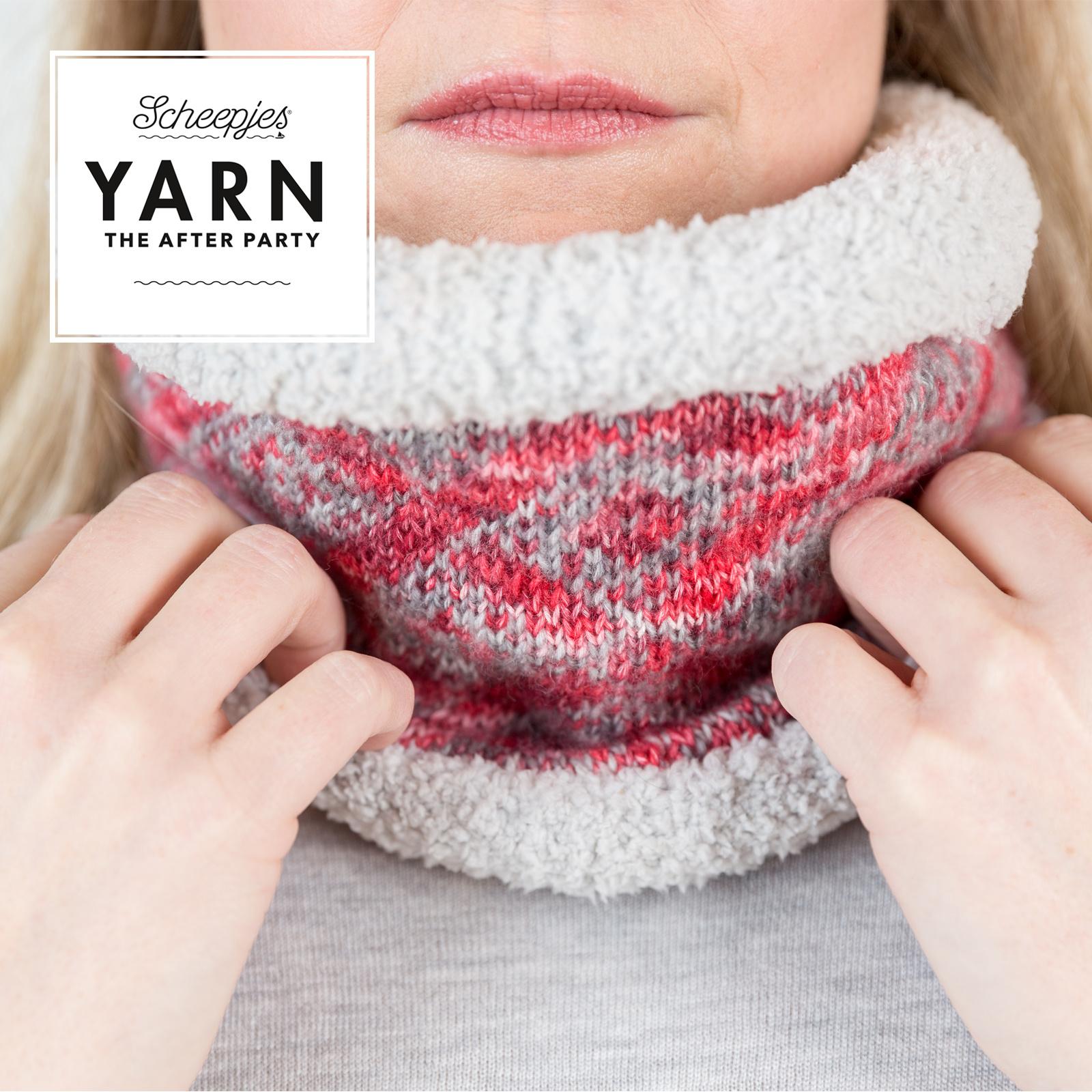 "YARN Crochet pattern 21  ""Weathered Cowl"""