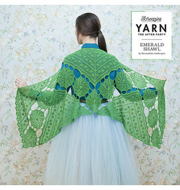 "YARN Patron de crochet 3 ""Emerald Shawl"""