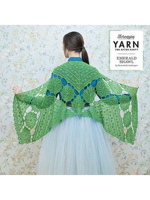 "Yarn YARN Patron de crochet 3 ""Emerald Shawl"""