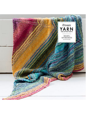 "Yarn YARN Patron de crochet 6 ""Shawl of Secrets"""