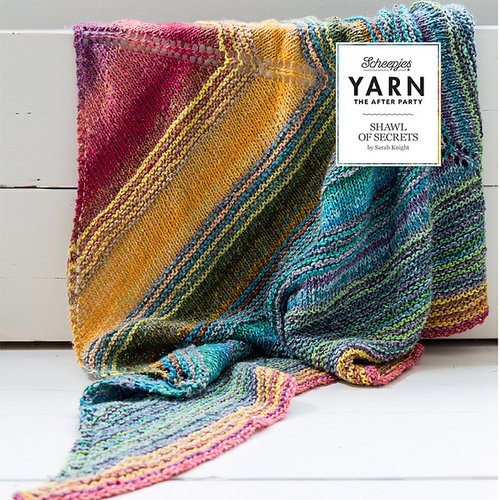 "Yarn YARN Crochet pattern 6 ""Shawl of Secrets"""