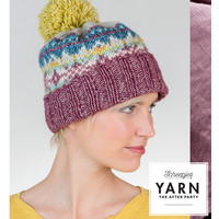 "YARN Crochet pattern 7 ""Fair Isle Hat"""