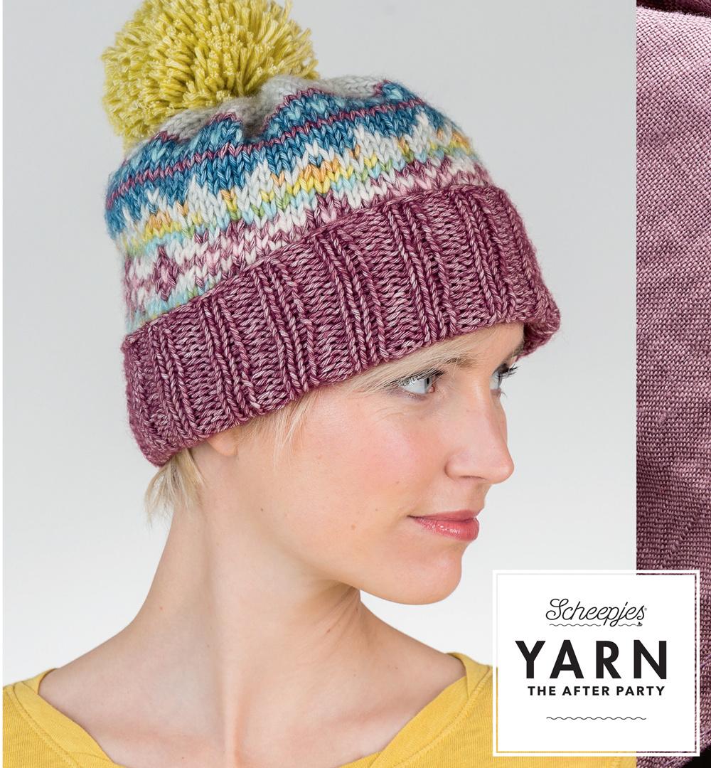 "YARN Crochet pattern 7 ""Fair Isle Hat"""