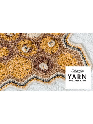 "Yarn YARN Patron de crochet 8 ""Honey Bee Blanket"""