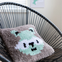 "Knot Package DenDennis Cushion ""Raccoon"""