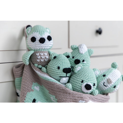 DenDennis Crochet Package DenDennis Amigurumi 2 Mint green
