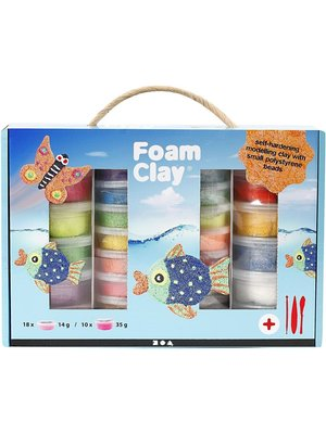 Creativ Company Foam Clay® Set Assorted Colors