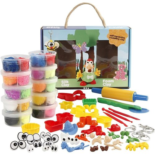 Creativ Company Silk & Foam Clay® Set