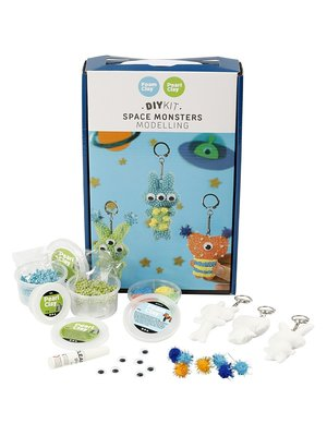 "Creativ Company Silk & Foam Clay® Set ""Space Monters"""