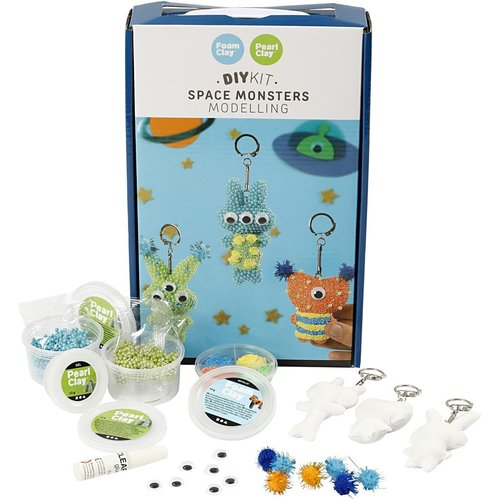 "Creativ Company Pearl & Foam Clay® Set ""Ruimte Monsters"""