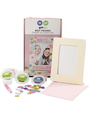 "Creativ Company Silk & Pearl Clay® Set ""PhotoFrame"""