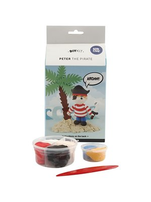 "Creativ Company Silk Clay® Set ""Peter der Pirat"""