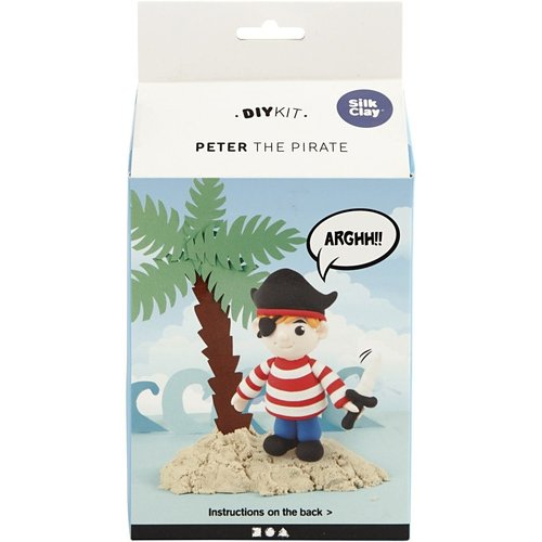 "Creativ Company Silk Clay® Set ""Peter the Pirat"""