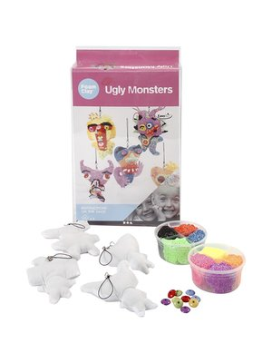 "Creativ Company Foam Clay® Set ""Monstres Laids"""